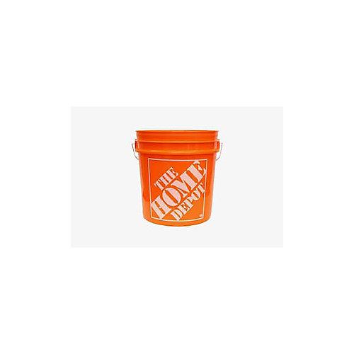 8L / 2 gallons d'Orange Home Depot Seau Logo'ed