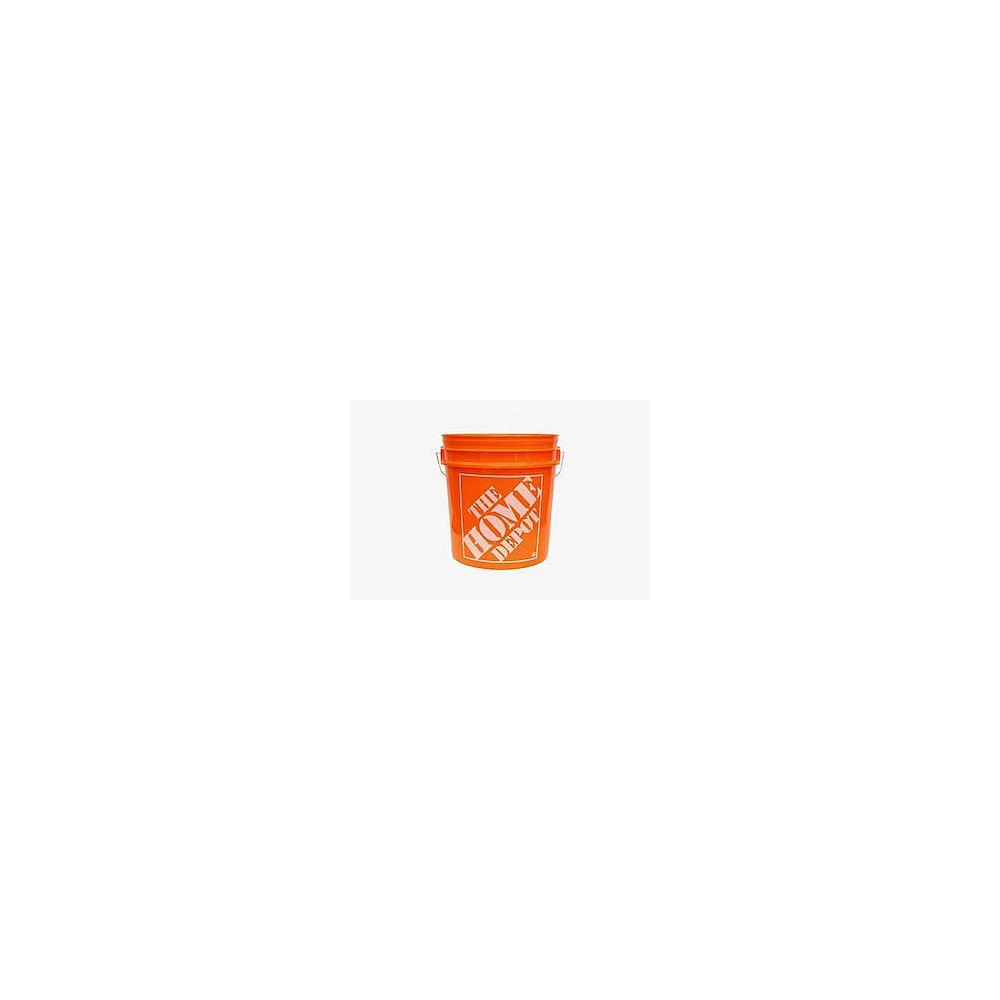 The Home Depot 8L Orange Home Depot Logo Bucket