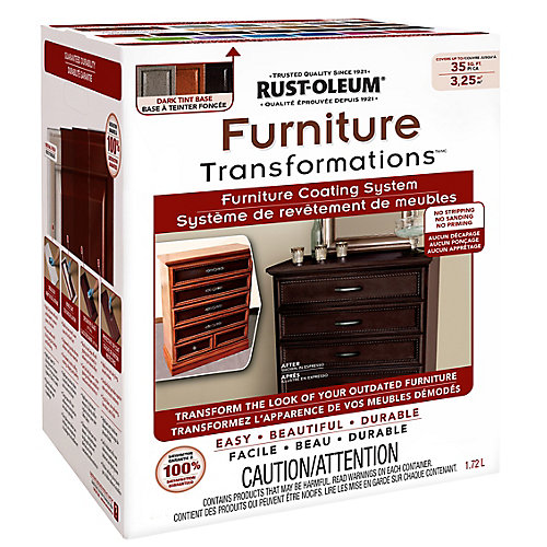 Furniture Transformations Dark Tint Base Kit, 1.72 L (covers up to 35 sq. ft)