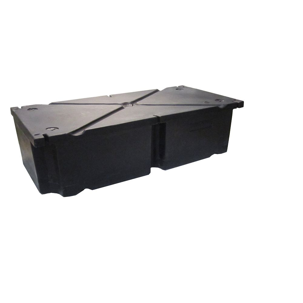 Patriot Docks 48 Inches x24 Inches x16 Inches  Rectangular Float