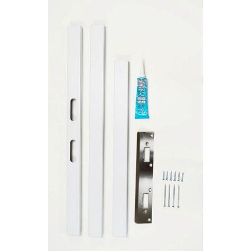 Dusco Safe Door Systems Canal au fini peint blanc de haute qualité