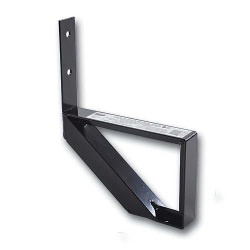 Collection 10_1 Step Aluminium Stair Riser Black_7 1/2 in x 9 1/16 in Includes one (1) riser only