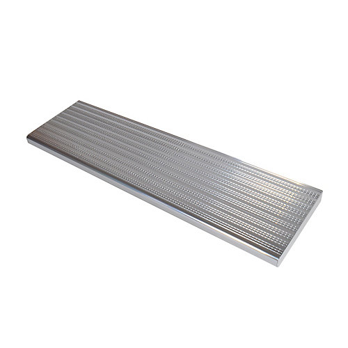 Collection 10_Aluminium Stair Tread Shiny Anodised - 36 in x 9 ¾ in