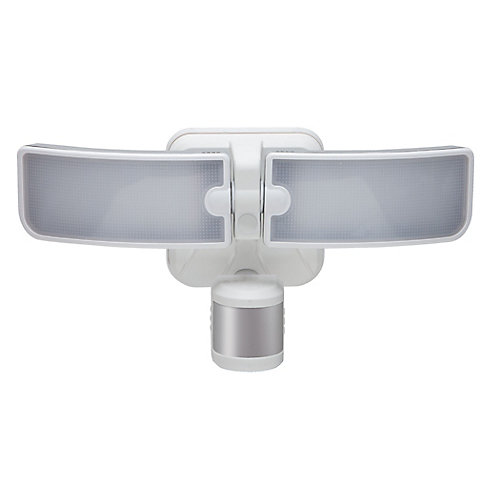 BLADE 180-Degree White LED Outdoor Motion Security Light