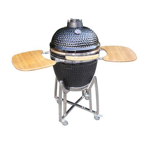 21-inch Kamado Ceramic Egg BBQ