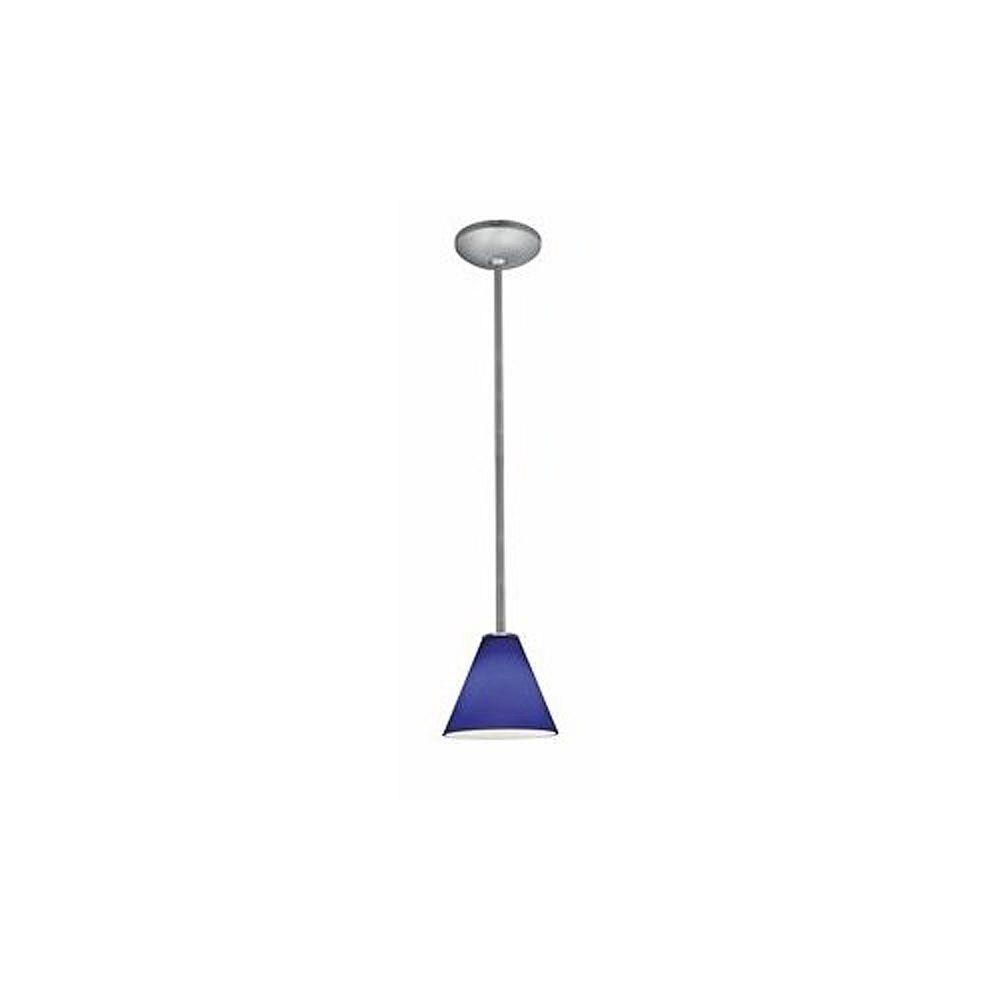 Filament Design Vista Lumière accrochante avec abat-jour de spécialité couleur en argent