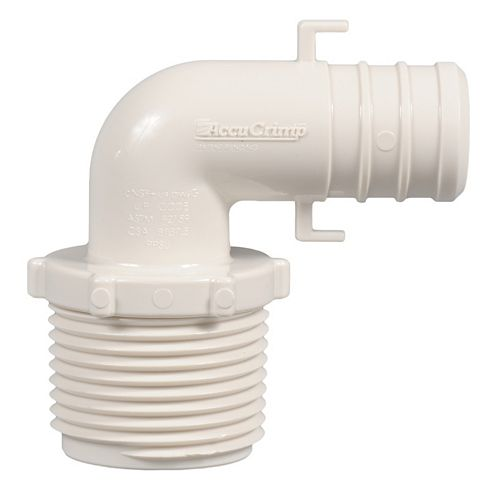 3/4 Inch Pex X 3/4 Inch Mpt Elbow (10-Pack)
