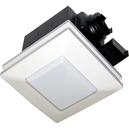Softaire Super Quiet Ventilation Fan and Light Kit:  90 CFM,  1.0 sones - ENERGY STAR®