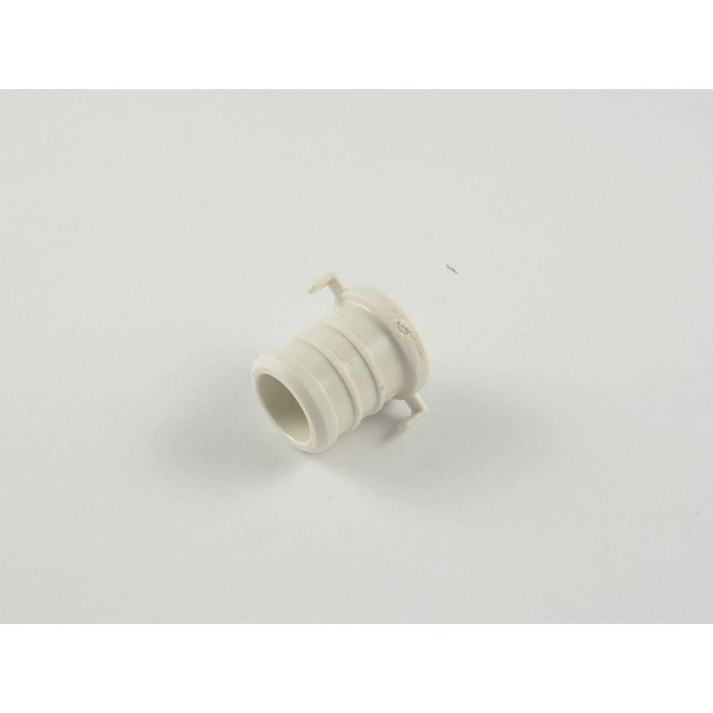 Jag Plumbing Products 3/4 Inch Pex Acetal Test Plug - Black (10-Pack)