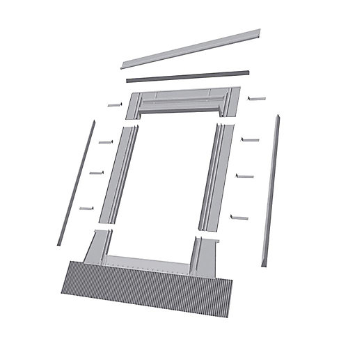 24-inch x 38-inch  EH-W Roof Access Window High Profile Flashing - ENERGY STAR®