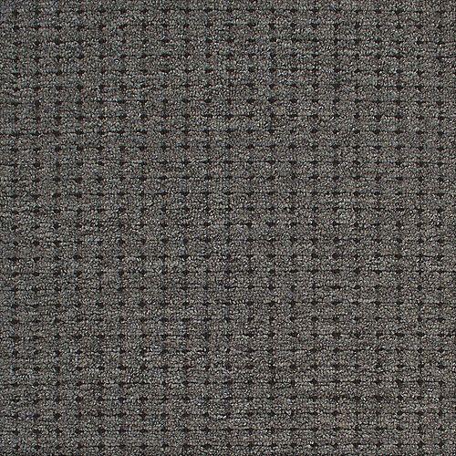Moquette d'intérieur bouclé à niveaux multiples Laverne Cornemuse, 12 pi. x longueur sur mesure