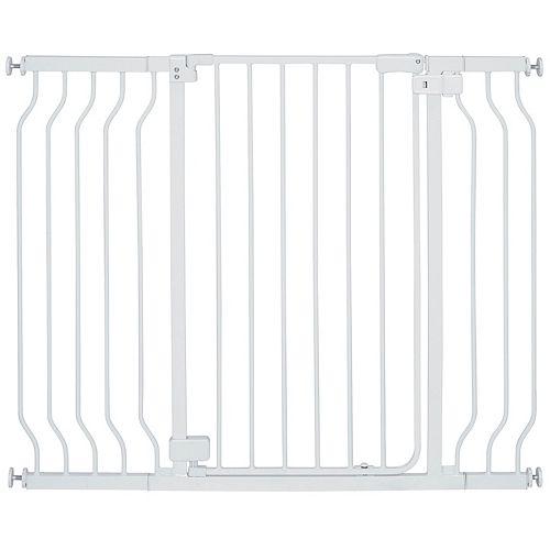 Barrière à portillon extra haute en métal Sure & SecureMD
