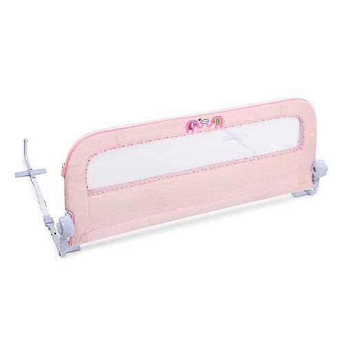 Barrière de lit Sure & SecureMD en peluche rose
