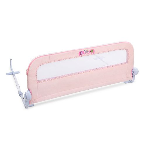 Barrière de lit Sure & SecureMD en peluche rose