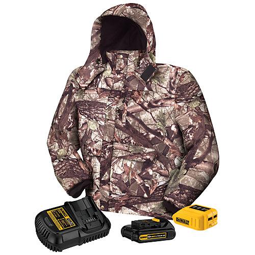 Heated Jacket Kit - Extra Large  20-Volt/12-Volt Max Camo