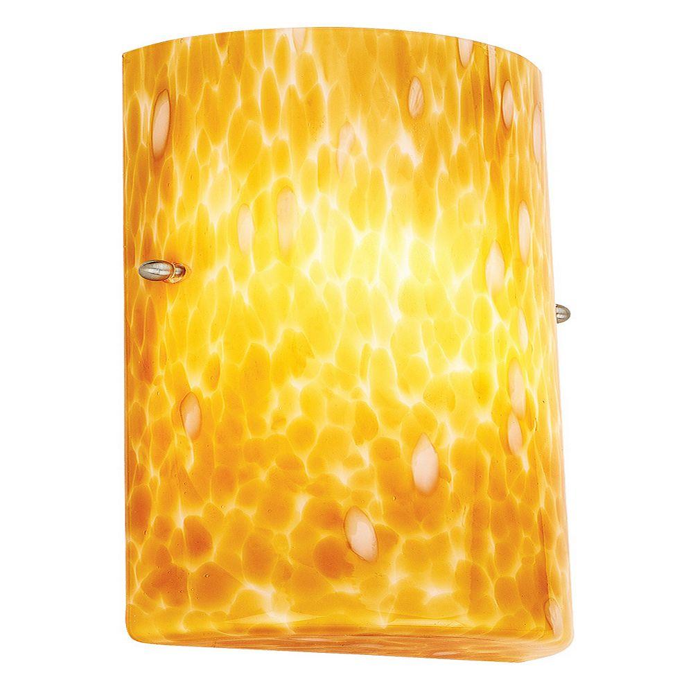 Filament Design Vista Lumière fixée au mur avec abat-jour de spécialité couleur en Blanc