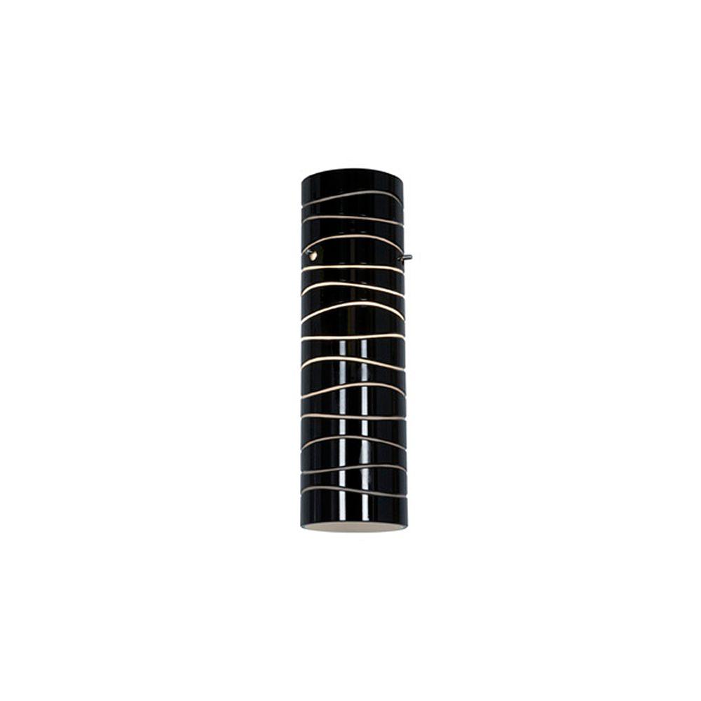 Filament Design Vista 16.07 Inch Black LinedGlass Shade