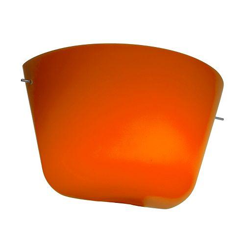 Vista Lumière fixée au mur avec abat-jour de spécialité couleur en argent