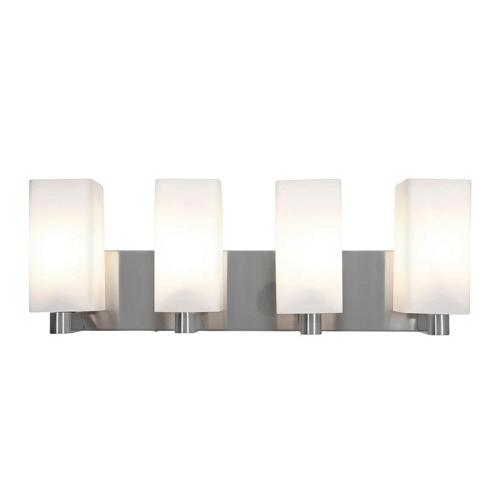 Filament Design Vista Lumière fixée au mur avec abat-jour de spécialité couleur en argent