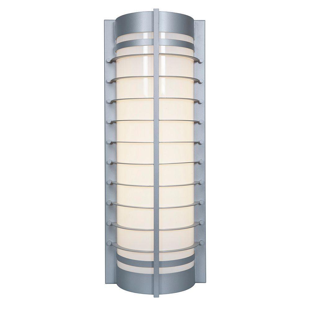 Filament Design Vista 2 Light SatinFluorescent Wall Light with AcrylicGlass