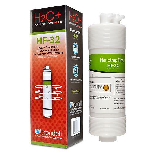 H2O+ Cypress Nanotrap Filter