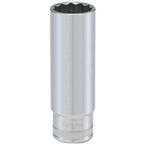 1/2-inch Drive 17 mm 12-Point Metric Deep Socket