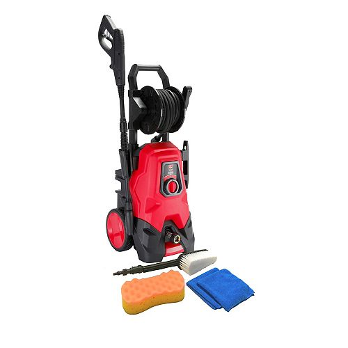 Clear Force 1600 PSI 1.35 GPM Electric Pressure Washer