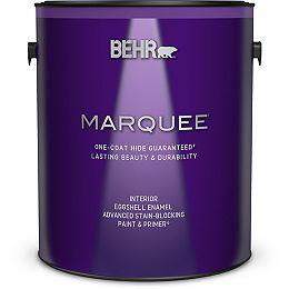 Interior Eggshell Enamel Paint & Primer - Ultra Pure White, 3.79L