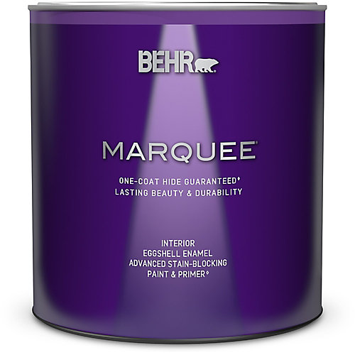 Marquee 939 mL Medium Base Eggshell Enamel Interior Paint with Primer