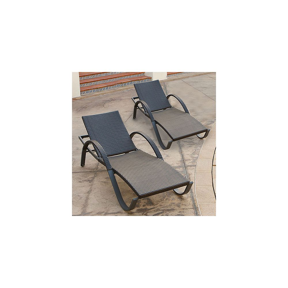 RST Outdoor Tikka Deco Lounger (2-Pack)