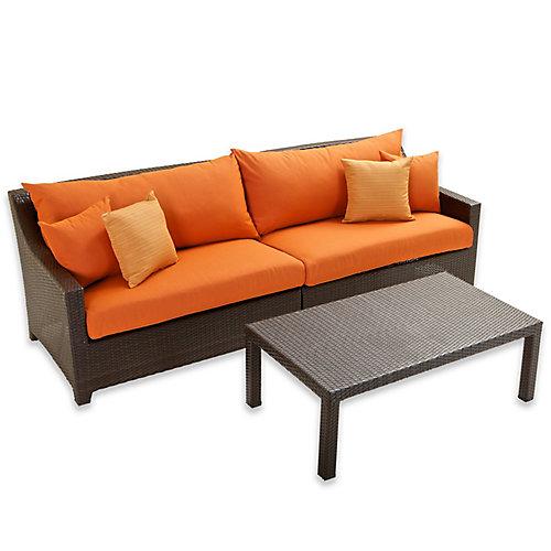 Tikka Sofa and Coffee Table Set