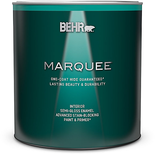 Marquee 939 mL Deep Base Semi Gloss Enamel Interior Paint with Primer