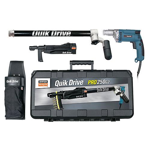 Système Quik DrivePRO250 pour moteur de visseuse Makita 2 500tr/min