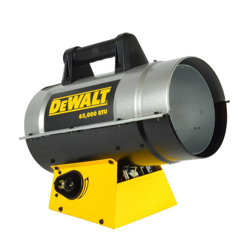 DEWALT Forced Air Propane Heater 65,000 Btu F340710