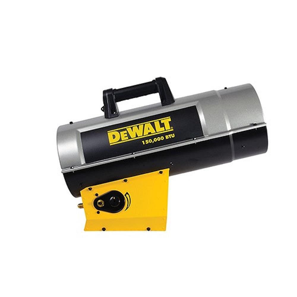 DEWALT Forced Air Propane Heater 150,000 Btu F340725