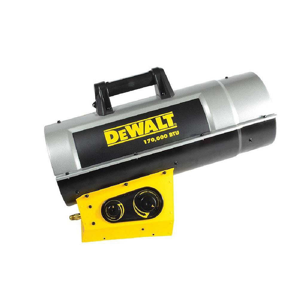 DEWALT Forced Air Propane Heater 170,000 Btu F340730