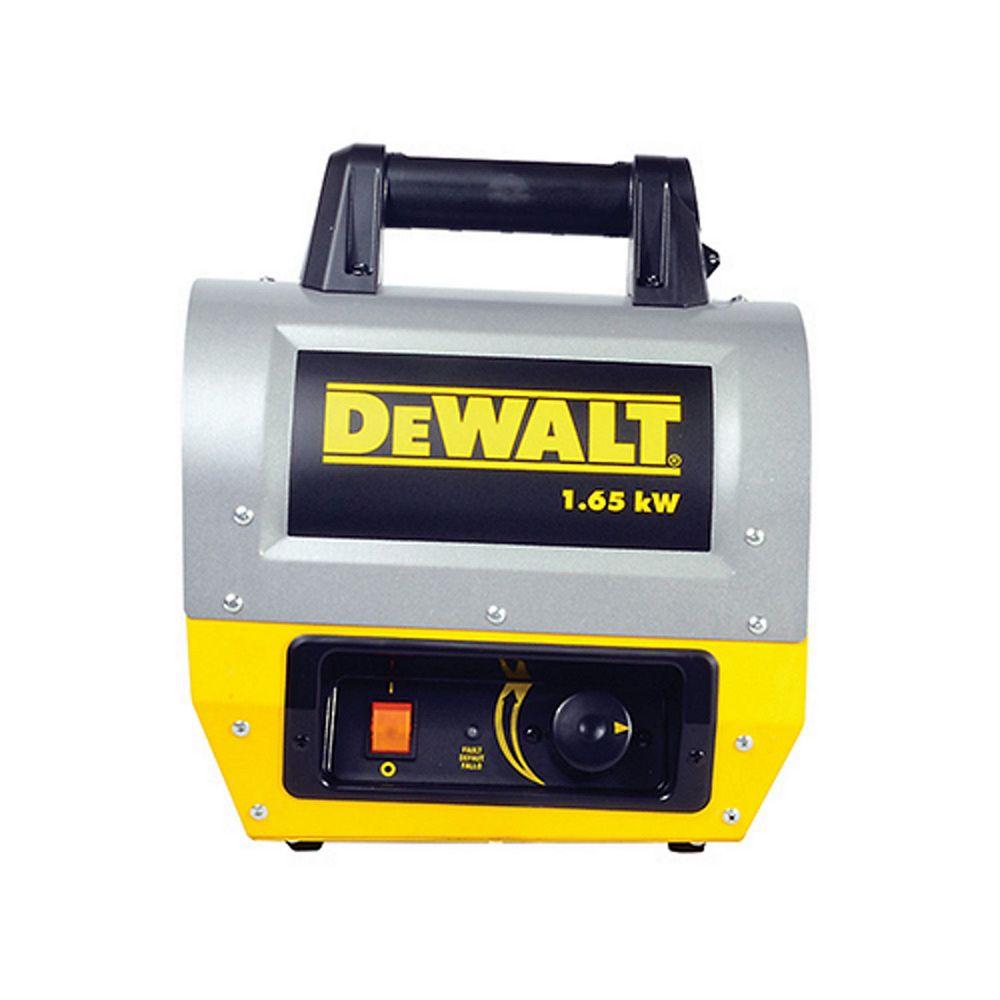 DEWALT Electric Forced Air Heater 1.65Kw F340635