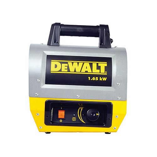 DEWALT Electric Forced Air Heater 1.65Kw F340635