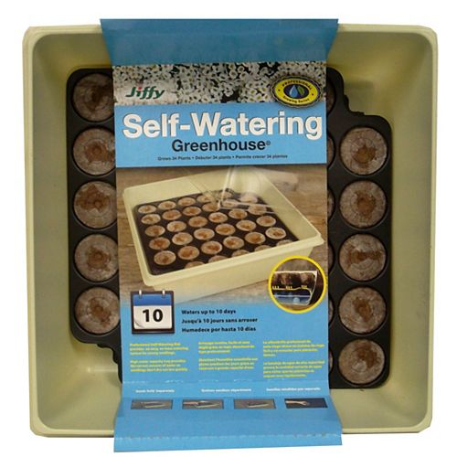 Jiffy Self-Watering Greenhouse 34
