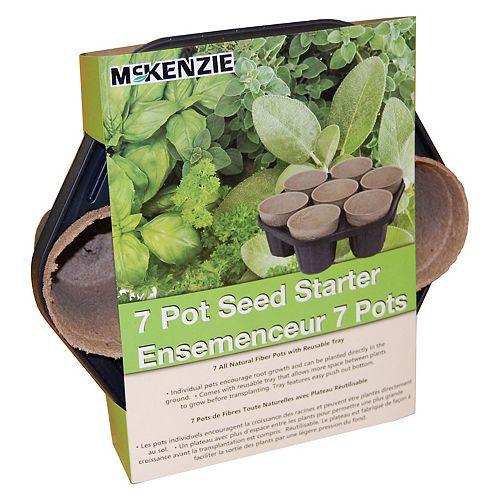 McKenzie 7 Pot Seed Starter