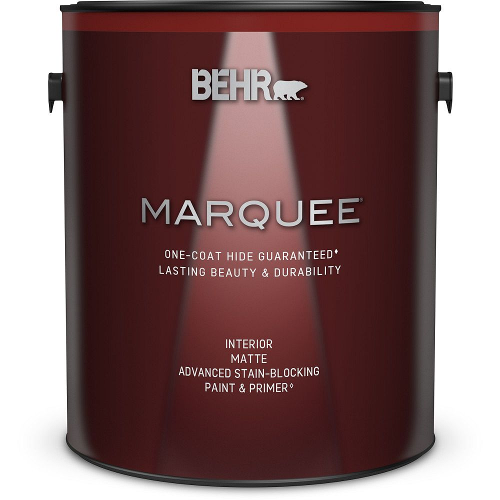 Behr Marquee Marquee 3.7 L Deep Base Matte Interior Paint with Primer