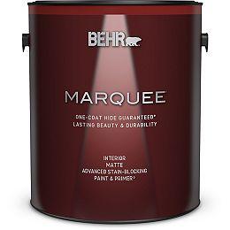 Interior Matte Paint & Primer - Ultra Pure White, 3.79L