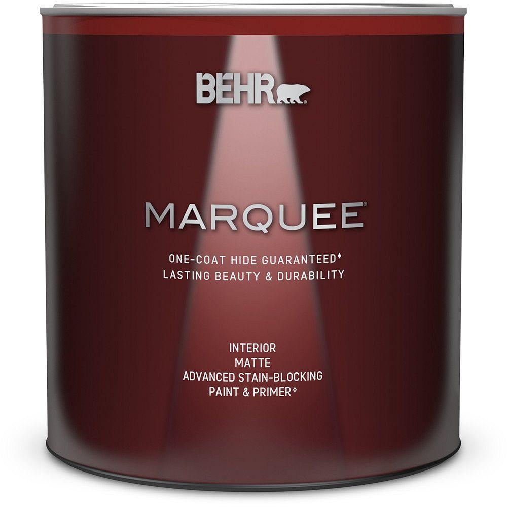 Behr Marquee Marquee 939 mL Medium Base Matte Interior Paint with Primer