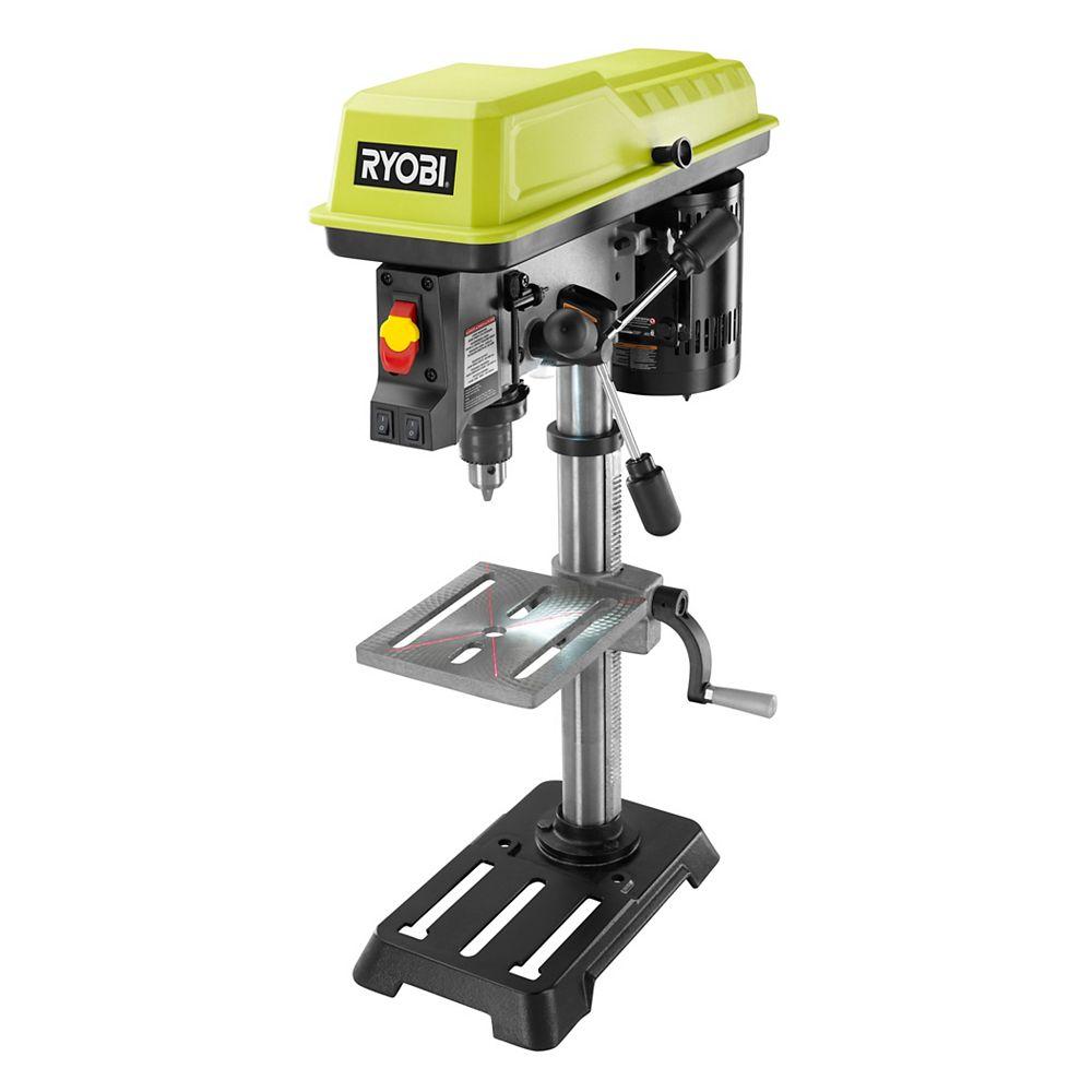 RYOBI 10-Inch Drill Press with Laser