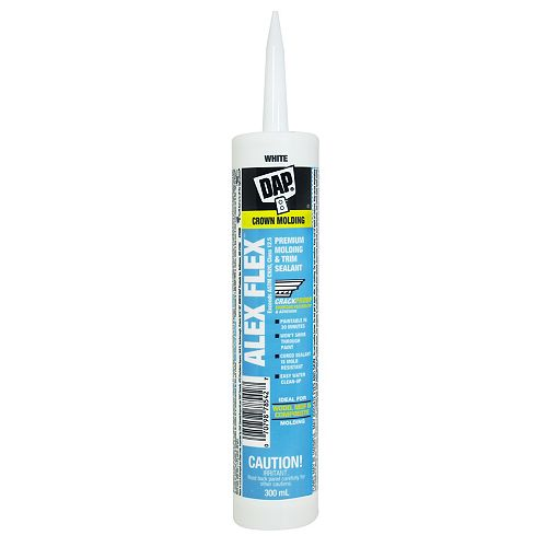 ALEX FLEX Premium Molding & Trim Sealant White 300ml
