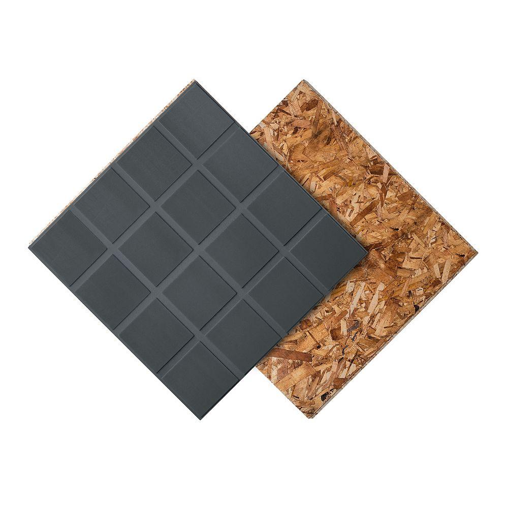 Dricore R+ Insulated Subfloor Panel 23.25 inch x 23.25 inch