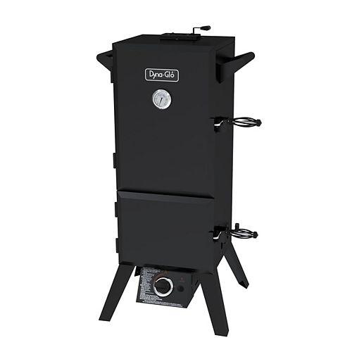 Dyna-Glo 36-inch Vertical Double Door Propane Gas Smoker