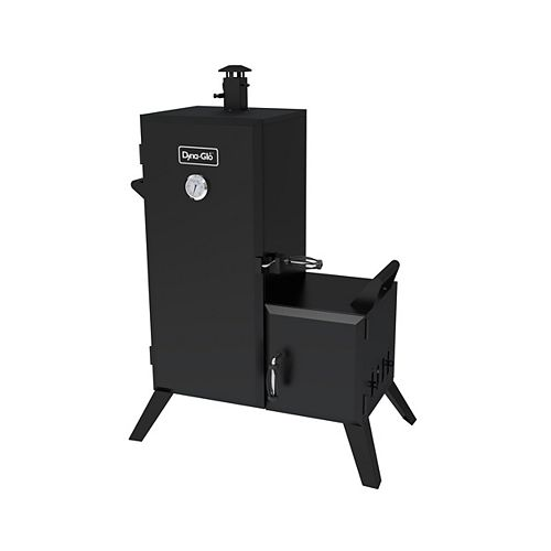 Dyna-Glo 36-inch Vertical Off-Set Charcoal Smoker