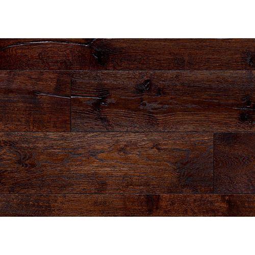 Beaulieu Canada Plancher DHT, bois d'ingénierie, 7 7/16 po de large, Chêne Inverness, 23,19 pi2/boîte
