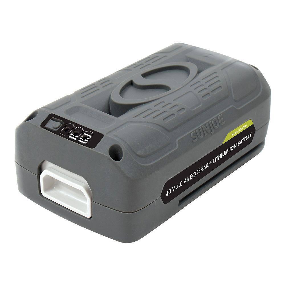 Snow Joe iON 40V EcoSharp 4 amp Li-Ion Battery
